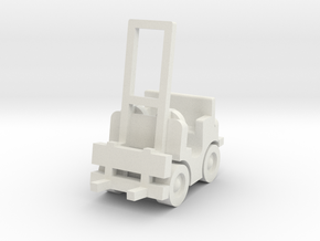 Besatzungsteil Gabelstapler 1:87 in White Natural Versatile Plastic