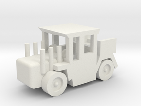 Besatzungsteil Showtruck 1:87 in White Natural Versatile Plastic