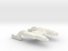 3788 Scale Lyran Refitted Tiger Heavy Cruiser CVN in White Natural Versatile Plastic