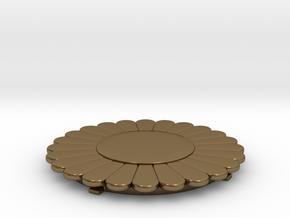 Flower Power SwapTop in Polished Bronze