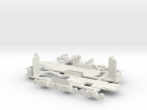 Chassis Type 8 Boston for Bowser parts in White Natural Versatile Plastic