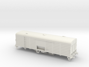 Box Car C22 for cement transportation - Vagón cerr in White Natural Versatile Plastic