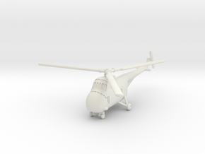 Sikorsky H-19B/D Chickasaw (S-55) 1/160 in White Natural Versatile Plastic