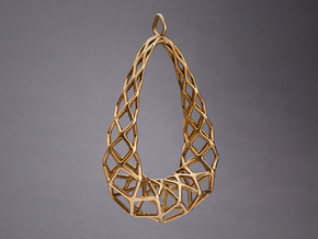 Pendant 003 in Natural Bronze