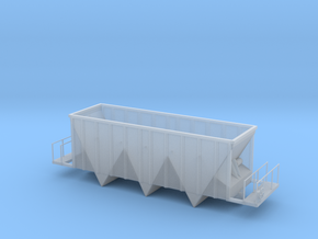 Aggregate Gondola II - HOscale in Smooth Fine Detail Plastic