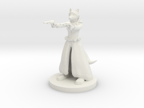 Kitsune Gunslinger Two Pistols in White Natural Versatile Plastic