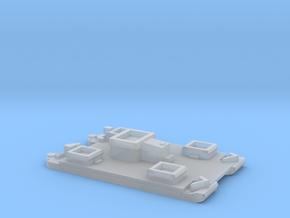 1/700 Siebel Ferry 40 Light Flak in Smooth Fine Detail Plastic