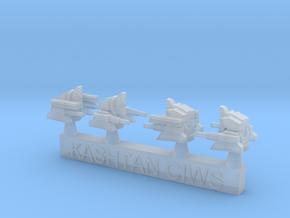 1/700 Kashtan CIWS Turrets in Smoothest Fine Detail Plastic