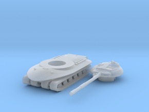 1/285 Object 279 in Smooth Fine Detail Plastic: Small