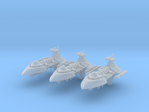 Havoc Frigates (3) in Smooth Fine Detail Plastic