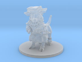 Civil Chihuahua (small canitaur) in Smooth Fine Detail Plastic