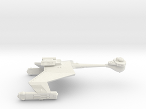 3788 Scale Romulan KR Heavy Cruiser WEM in White Natural Versatile Plastic