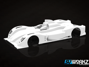 SV Workz - Oreca 03 - Body (1:32) in White Processed Versatile Plastic