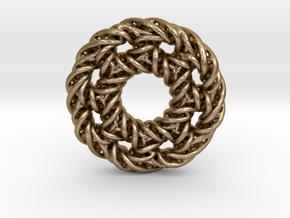 circular 2 in Polished Gold Steel