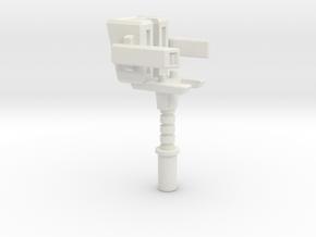 Hammer of the Primes in White Natural Versatile Plastic