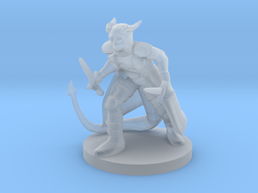 Tiefling Rogue in Smooth Fine Detail Plastic