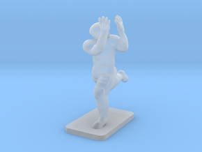 Catching Wide Receiver (2.5g) in Smooth Fine Detail Plastic