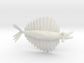 Anomalocaris in White Natural Versatile Plastic