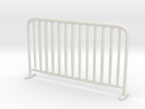 Printle Thing Safety Barrier - 1/24 in White Natural Versatile Plastic