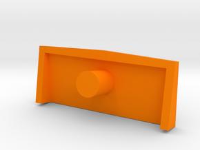 Legendary Huff Wind Vane in Orange Processed Versatile Plastic