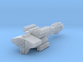Earthforce Tantalus Assault Cruiser 122mm in Smooth Fine Detail Plastic