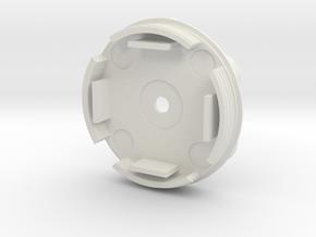 V2 - Mid Section in White Natural Versatile Plastic