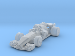 F1 2017 Z-Scale in Smooth Fine Detail Plastic: 1:220 - Z