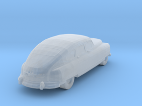 1950 Nash Ambassador Stock Car Z-Scale in Smooth Fine Detail Plastic: 1:220 - Z