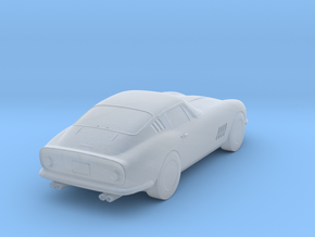 64-68 Ferrari 275 GTB Z-Scale in Smooth Fine Detail Plastic: 1:220 - Z