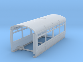 LNWR Body B, OO in Smooth Fine Detail Plastic