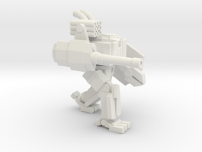 ICE Mech Two Legged Brawler in White Natural Versatile Plastic