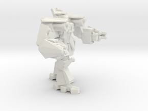 Iron Gut Standard Gunner in White Natural Versatile Plastic