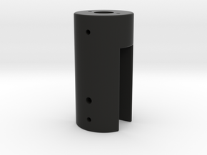 torch holder in Black Natural Versatile Plastic