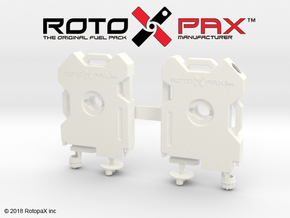 TR10017 TRX-4 RotopaX door mount WHITE in White Processed Versatile Plastic