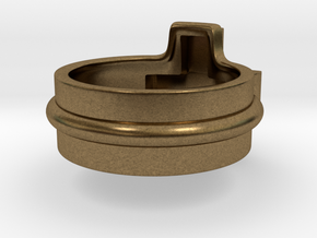 Ring of the gamer in Natural Bronze: 5 / 49