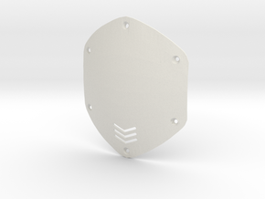 V-moda M80 Shield Replacement in White Natural Versatile Plastic