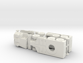 South African G6 Rhino 155mm SPG 1/144 in White Natural Versatile Plastic