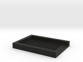 Agarose Mold V4 Shortened in Black Natural Versatile Plastic