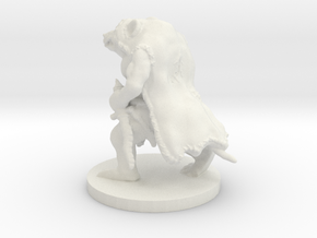 Ratssassin The Rat Assassin Revised in White Natural Versatile Plastic