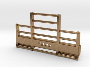 DCP Kenworth horizontal bar bumper in Natural Brass