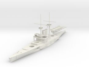1/700 Prototype Dreadnought Nadezhda in White Natural Versatile Plastic
