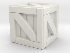 Crate - Tabletop RPG in White Natural Versatile Plastic