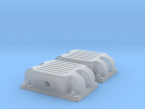 BND30 standard couplers in Smooth Fine Detail Plastic: 1:35