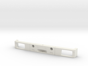 front bumper compatible MB SK 1/14   V1 in White Natural Versatile Plastic