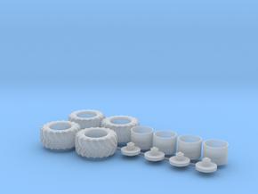 H0 1:87 Reifen 600/55 R26.5 in Smooth Fine Detail Plastic