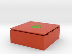 D&D Square Dice Box pr in Full Color Sandstone