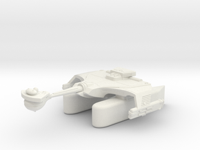 3125 Scale Klingon T7K Refitted Fleet Tug WEM in White Natural Versatile Plastic