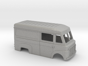 BF commer carrosserie scale 1:120 in Aluminum