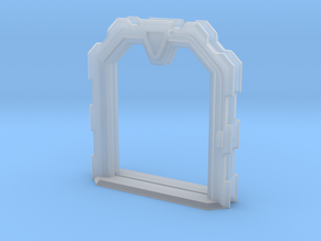 Sci-Fi Door (Open) - 28mm - MDF Building Detail in Smooth Fine Detail Plastic