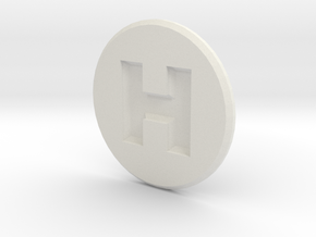 Hornady Powder Dispenser Cover in White Natural Versatile Plastic